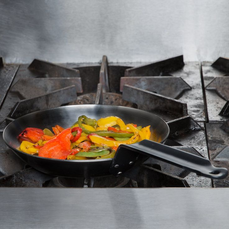 "French Style 7 7/8"" Carbon Steel Fry Pan"