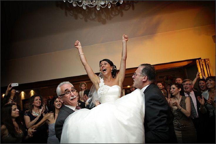 Jewish wedding celebrations in full swing! / nealejames.com