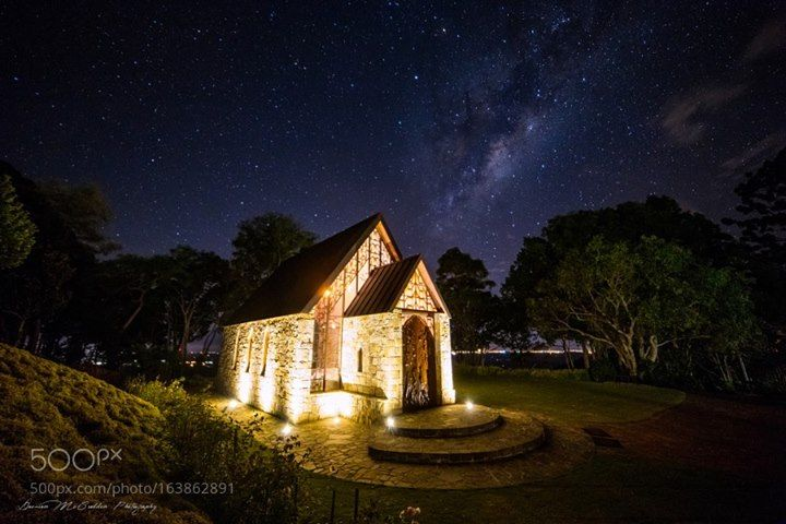 Montville Chapel Hey y'all! A few months ago me and my mate Dale from DK Photography decided to make the venture up to Montville in the Sunny Coast hinterland to shoot this amazing chapel! Special shout out to Marcus for letting us in and turning on the lights :) Hope you all like it :) Thanks for looking! Camera: Canon EOS 6D Shutter Speed: 13sec ISO/Film: 1600 Image credit: http://ift.tt/2aaf4K0 Visit http://ift.tt/1qPHad3 and read how to see the #MilkyWay #Galaxy #Stars #Nightscape…