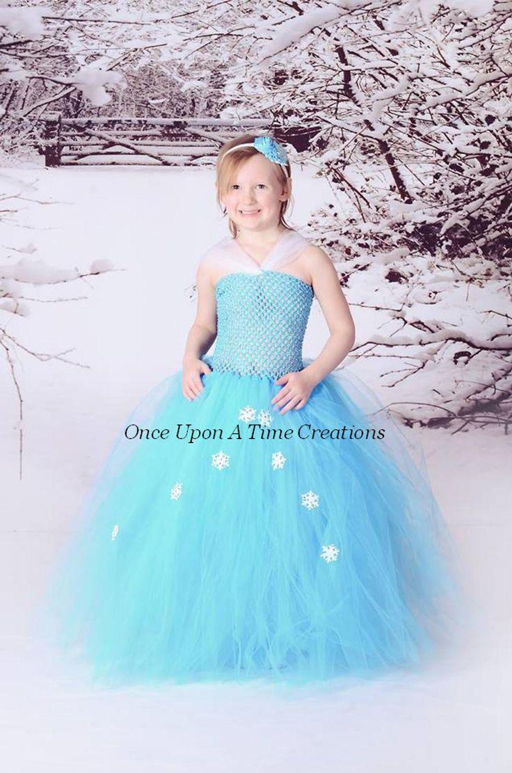 Snowflake Princess Costume, Halloween Costume, Ice Queen