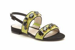 Studio Punch, Lime, Womens Smart Sandals - Clarks