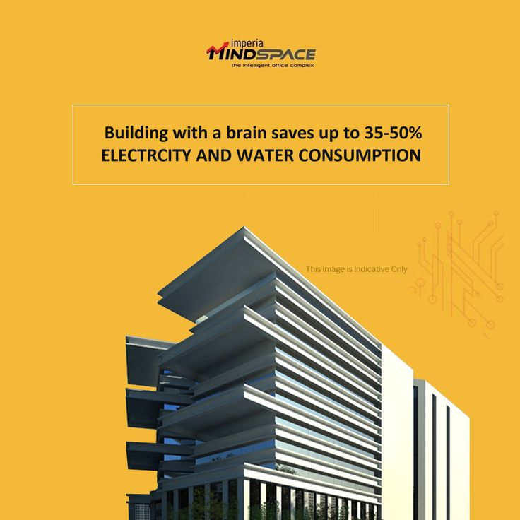 Building with a brain saves up to 30-35% Electricity and water consumption   #ImperiaMindSpace #IntelligentBuilding #officespace #foodcourt #retail #ImperiaStructures