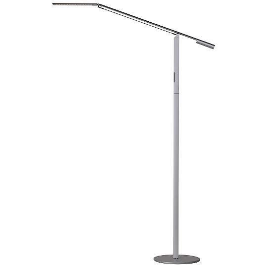 Koncept Modern Gen 3 Equo Daylight Silver Floor Lamp $269