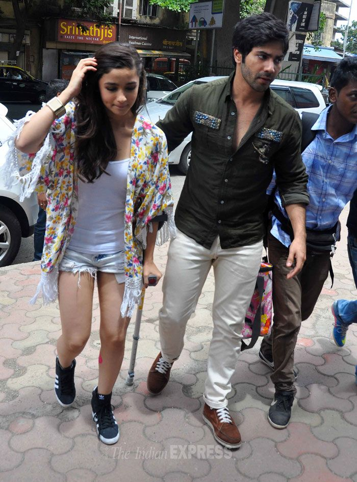 Alia Bhatt and Varun Dhawan for the promotions of their movie 'Humpty Sharma Ki Dulhania'. #Style #Bollywood #Fashion #Beauty #Handsome