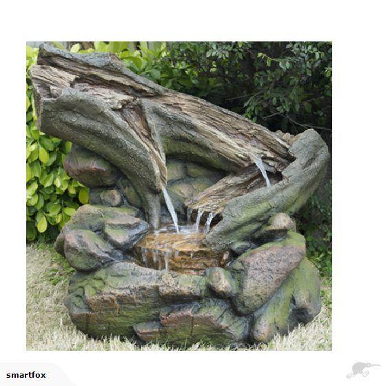 Water Feature - Log Rock Pool   Trade Me
