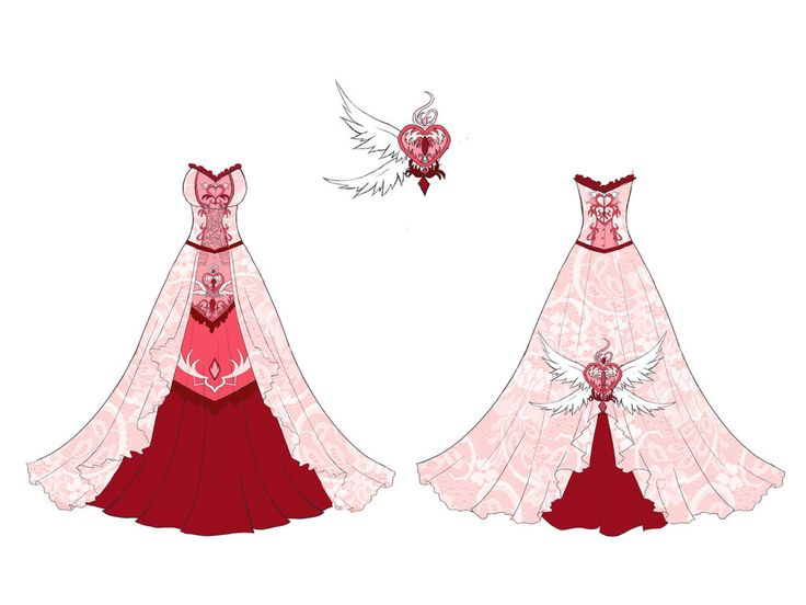 dress of anime