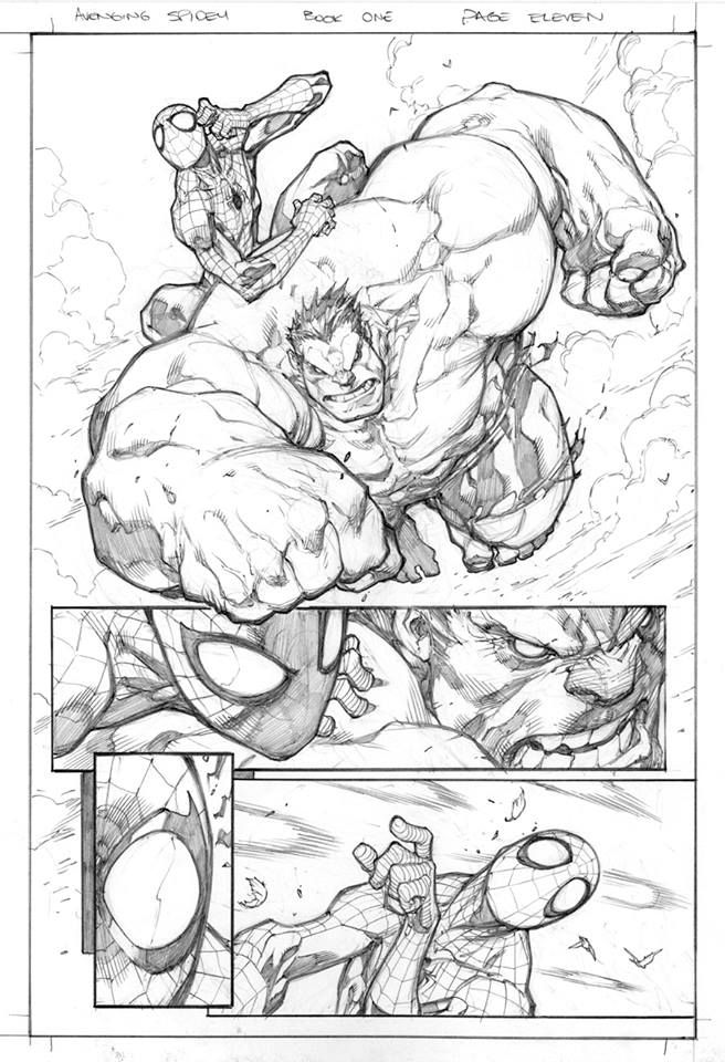 Avenging Spiderman by Joe Madureira