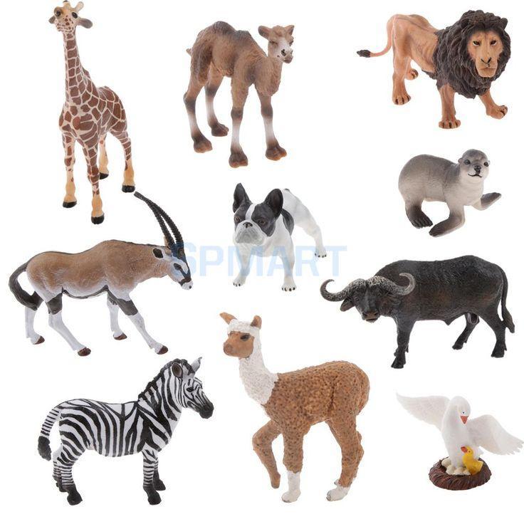 Barato Realista Da Vida Selvagem Selvagem/Fazenda/Jardim Zoológico Animal Estatueta Modelo Toy Kids Presente, Compro Qualidade Figuras de ação & Toy diretamente de fornecedores da China: Realista Da Vida Selvagem Selvagem/Fazenda/Jardim Zoológico Animal Estatueta Modelo Toy Kids Presente