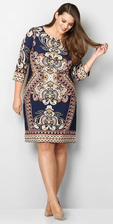 9c01b7a98 Modelos de Vestidos Plus Size Voc sempre linda csinos