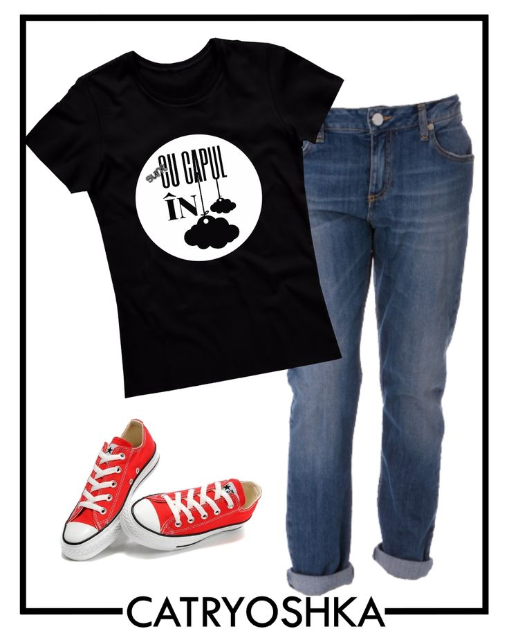Completeaza-ti tinuta casual cu un tricou cool de la CATRYOSHKA. Poti alege din zeci de modele de aici: www.catryoshka.ro/magazin/categorie-produs/tricouri-dama/tricouri-cu-mesaj.