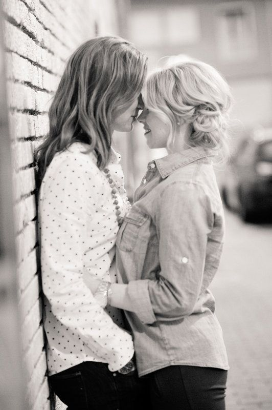 Cute Lesbian Kiss 37