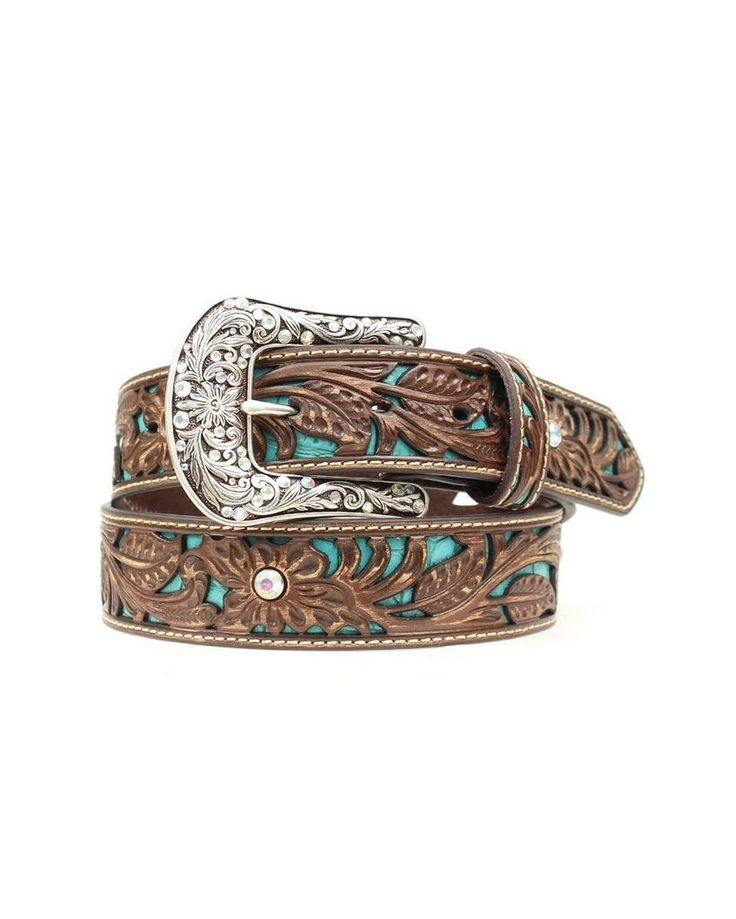 Ariat | Women's Underlay & Rhinestones Belt | Country Outfitter