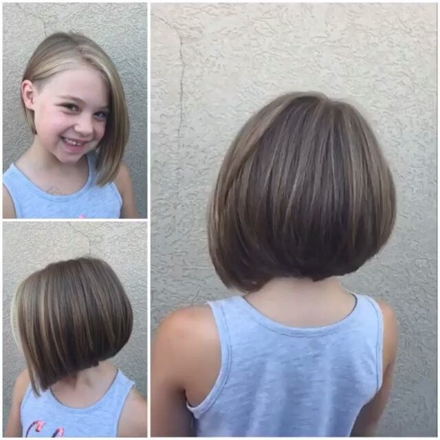 154 Likes 8 Comments Bobbedhaircuts On Instagram Credit To Hairbyshannablair This Must Be The Co Girls Short Haircuts Girl Haircut Little Girl Haircuts