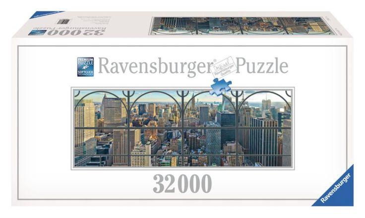 Puzzle RAVENSBURGER 32000 dílků - Pohled na New York (3.největší puzzle)