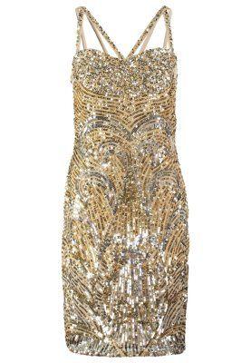 STEEL - Sukienka koktajlowa - silver/gold