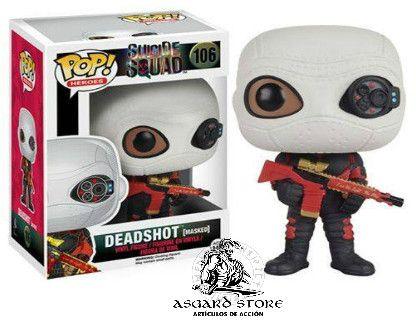 Deadshot integrante del Suicide Squad esta para ti