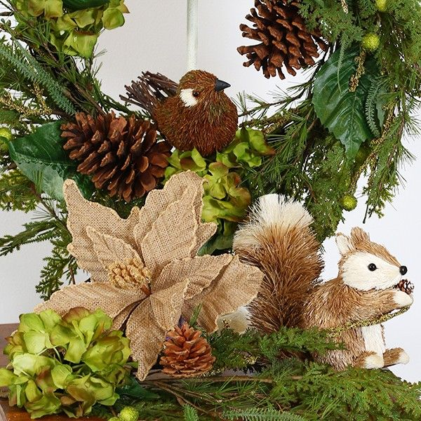 Natural Sisal and Twig Bird in Fresh Forest Lifestyle