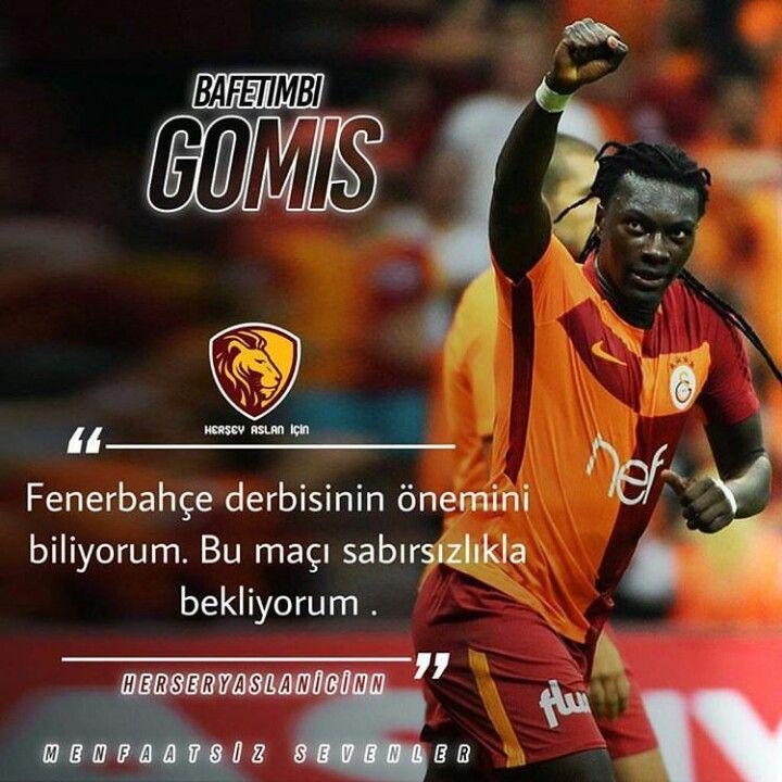 Adamım senden gol bekliyoruz! #inşaallah #Gomis #Galatasaray