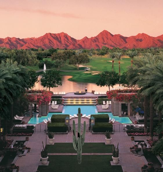 Scottsdale Golf - This looks like the Hyatt Gainey Ranch in Scottsdale.