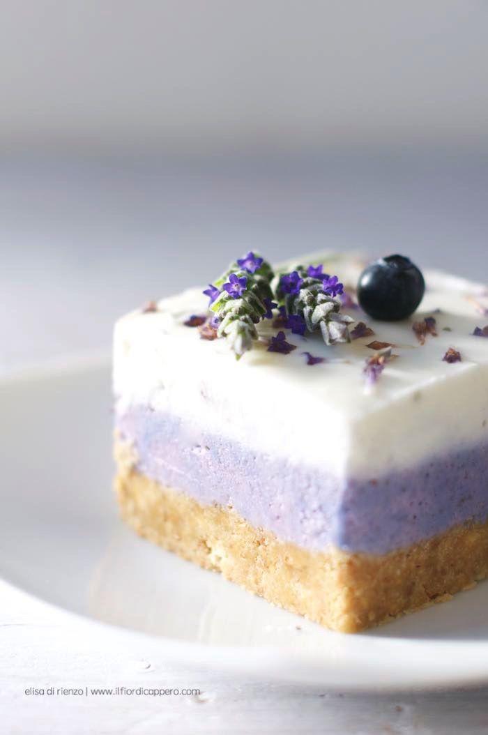 Cheesecake Mirtilli e Lavanda - Il Fior di Cappero