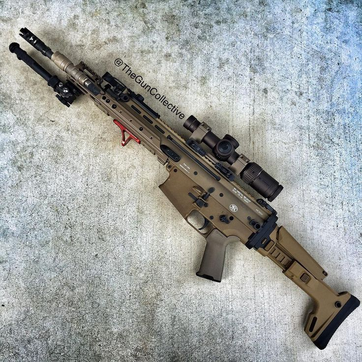 The Gun Collective — My weapon crush Wednesday is this SCAR heavy that...