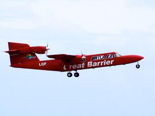 Great Barrier Airlines Trislander Type: Britten-Norman BN-2A Mk3-2 Trislander Registration: ZK-LGF Location: Auckland International Airport Date: 17/11/2011