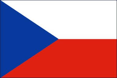 Czech Republic Flag - Download Picture of Czech Republic Flag Outline for kids to color