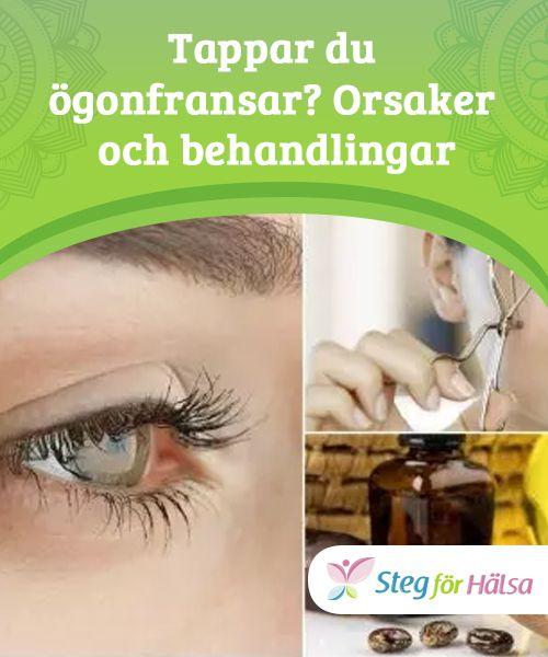 varför tappar man ögonfransar