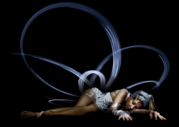 Light Painting - Light Art - Monica Mainardi - La luce è vernice, la notte è canvas