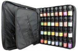 Merry Christmas to me :D Top 32 Essential Oil Set in Zippered Portfolio Case- 16 top singles and 16 top synergies.