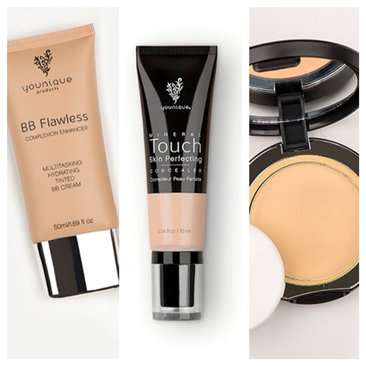 Want a flawless airbrushed look? These three items from Younique will give you the coverage you are searching for!  -BB flawless -skin perfecting concealer -pressed powder  Get yours here: https://www.youniqueproducts.com/MeganLaineCarter