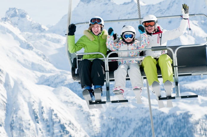 Hit the slopes with your family!