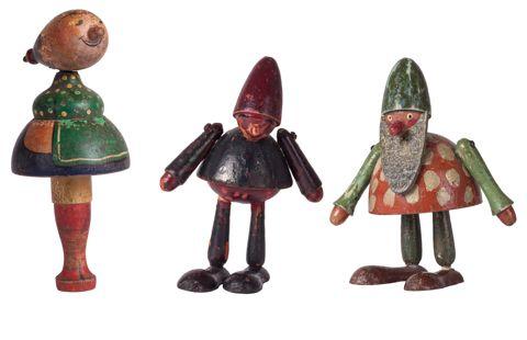 Čejka Jozef (1886–1932) | Hračky – 3 ks | Aukce obrazů, starožitností | Aukční dům Sýpka