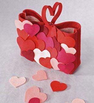 Cuori di Feltro fai da te per San Valentino - Fotogallery Donnaclick