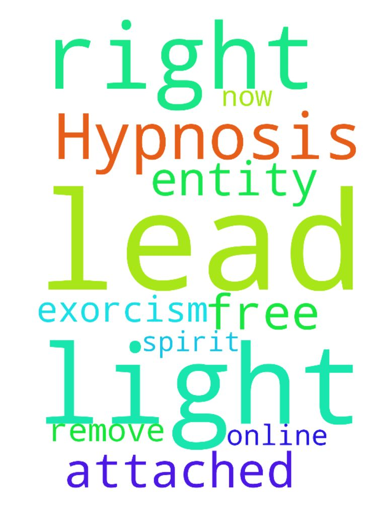 """Dear God please lead them to their lights that """"Hypnosis: - Dear God please lead them to their lights that Hypnosis Free Online Exorcism. Remove Attached Spirit Entity. will lead them to their light. right here right now. Amen Posted at: https://prayerrequest.com/t/NZE #pray #prayer #request #prayerrequest"""