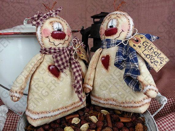 E-Pattern Gingie Love and Joy Pattern 131 por GingerberryCreek