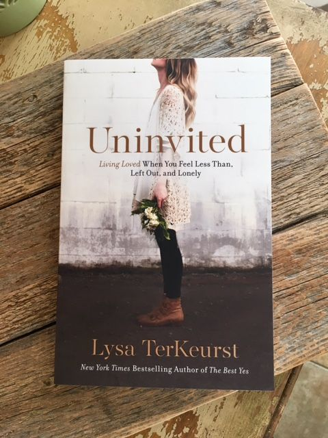 """""""Anger, resentment and bitterness have no place in that beautiful heart of yours."""" -#Uninvited featured in #Faithbox by @FamilyChris"""