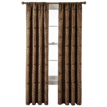 Royal Velvet 174 Vance Rod Pocket Curtain Panel Jcpenney