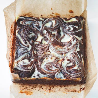 Rachel Allen's cheesecake brownies recipe. For the full recipe, click the picture or visit RedOnline.co.uk