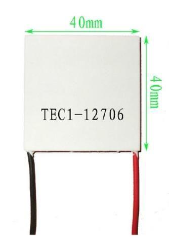 2pcs/lot TEC1-12706Thermoelectric Cooler Peltier 12706 12V 5A Cells, TEC12706 Peltier Elemente Module