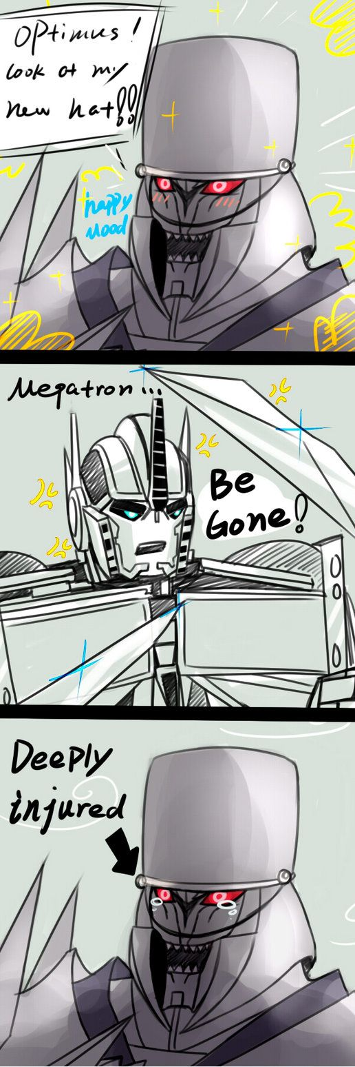 I like your hat megatron