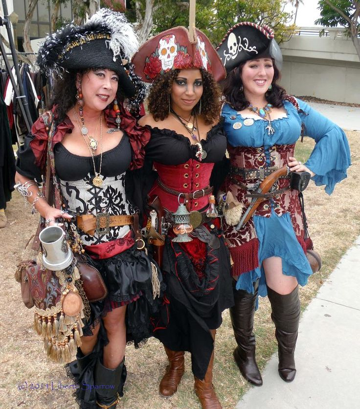 these ladies look great - I think the corsets are from Damsel in this Dress
