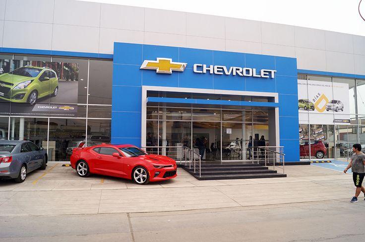 Chevrolet Autofondo, Concesionarios, Talleres, Showroom automotriz, Red de concesionarios, NP300, Spark, Sail, Cruze, Tracker, Captiva, Traverse, Camaro