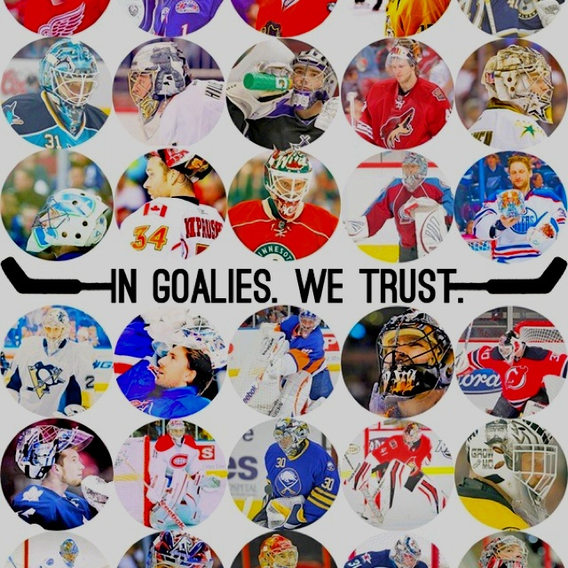 In goalies we trust