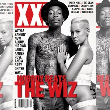 Rapper Wiz Khalifah and Fiance Amber Rose such a cute couple  The Young, Black, and Fabulous | Celebrity Gossip Never Looked So Good™