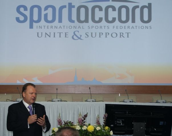 Marius Vizer was today elected the new President of SportAccord, beating his only rival, Bernard Lapasset. Vizer, President of the International Judo Federation (IJF), polled 52 votes to his rival's 37 to replace Hein Verbruggen, the controversial Dutchman who had held the post since 2004