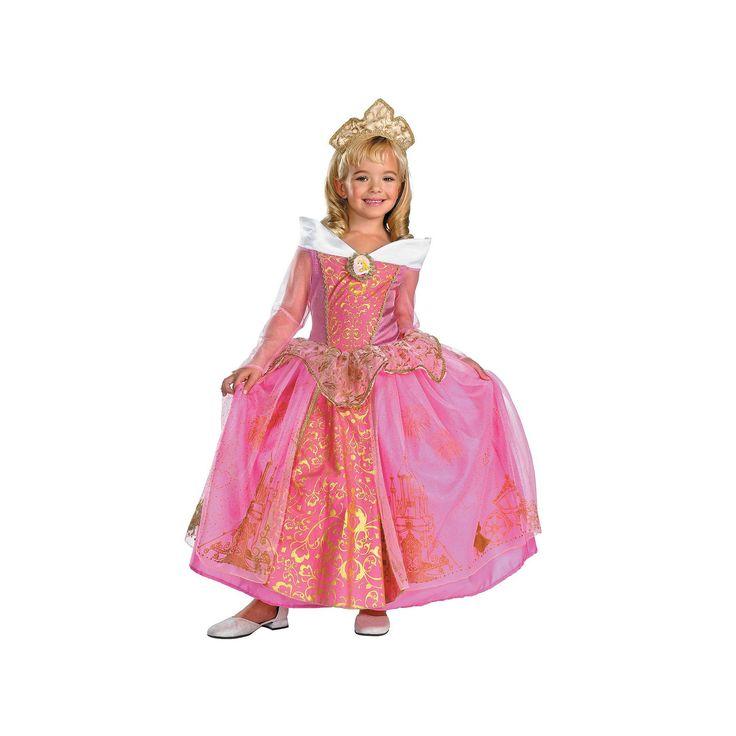 Disney Princess Aurora Costume - Toddler, Girl's, Size: 3T-4T, Multicolor