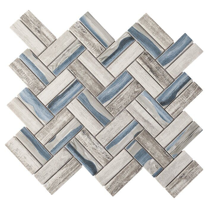 Recycle 1 X 3 Glass Wood Look Tile In 2020 Wood Look Tile Ceramic Wall Tiles Glass Mosaic Tiles