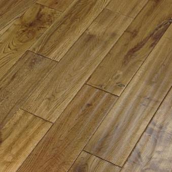 Abbey Florian Oak Golden Hand Scraped Solid Wood Flooring