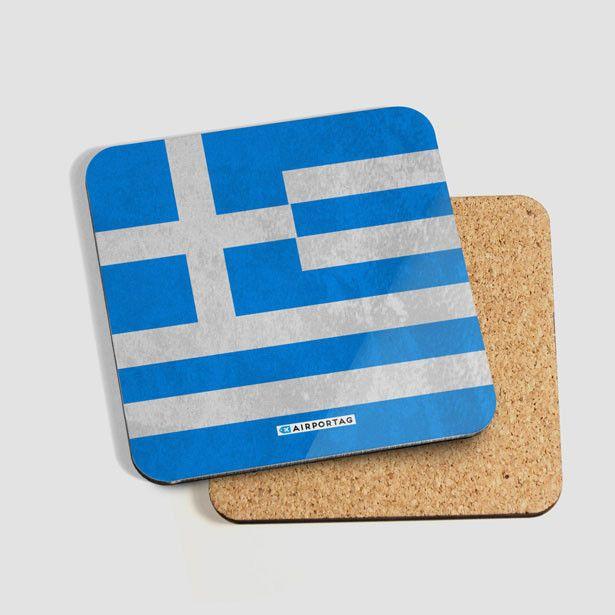 Greek Flag - Coaster